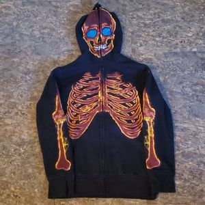 Boys sweatshirt glow in the dark